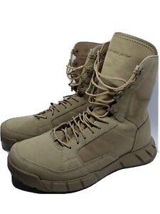 Oakley Light Assault Boot 2 Desert 11188-889 Military Boot Women's 10.5 Men's 9