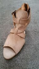 R M Williams Taroona Leather Ladies Heels Sandals BNWT Colour Palomino sz 36
