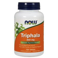 Now Foods Triphala 500 mg - 120 Tablets FRESH, FREE SHIPPING, MADE IN USA