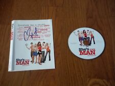 Channing Tatum Autographed 8x10 She's The Man CD Presskit Hand Signed