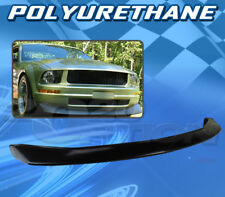 FOR FORD MUSTANG V6 05-09 T-CV STYLE FRONT BUMPER LIP BODY KIT POLYURETHANE PU