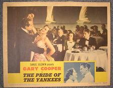 PRIDE OF THE YANKEES, GARY COOPER LOBBY CARD 1942 , 2