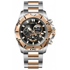 Invicta Men's Watch Speedway Chronograph Black and Rose Gold Dial Bracelet 32271