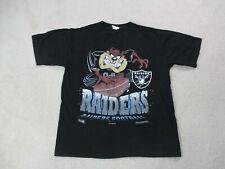 VINTAGE Oakland Raiders Shirt Adult Extra Large Taz Tasmanian Devil Football 90s
