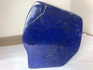 Royal Blue Top Grade Lapiz Lazuli Polished Free form Mineral specimen LP1006