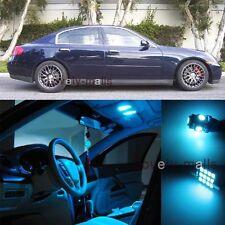 Ice Blue Light Bulb SMD Interior LED Package Kit For  Infiniti G35 Sedan 03-06
