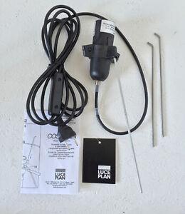 Luceplan | Costanza D13 Ersatzteile Pos. S: E27 Fassung mit ON/OFF Schalter alu