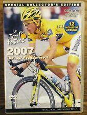 2007 Tour De France World Cycling Productions 6 Dvd 12 hrs Contador Very Clean