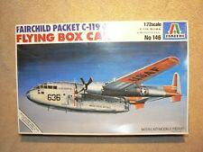 """Italeri 1:72 Fairchild Packet C-119G """"Flying Boxcar""""  Model Kit"""