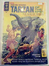 TARZAN OF THE APES 158 VG GOLD KEY 1966 PA2-287