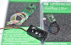 Uhlenbrock 76200 & 32510 Decoder & Intellisound- Modul Set Wunschsound NEU & OVP