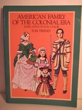 American Family Of The Colonial Era Paper Dolls By Tom Tierney