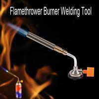 Camping BBQ Welding Gas Brass Torch Blowtorch Flame Gun Fit for Cheap Butane Can