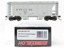 HO Scale Atlas Trainman 20003218 RUT Rutland Railroad PS-2 Covered Hopper #513