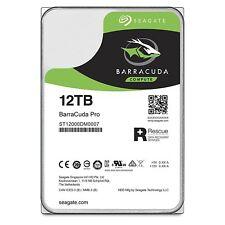 "Seagate Barracuda Pro 12TB ST12000DM0007 SATA3 3,5"" 256MB 7200RPM Festplatte HDD"
