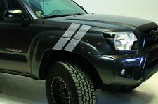 Custom Vinyl Decal Hash Marks Wrap Kit for Toyota Tacoma Parts 2005-2015 Silver