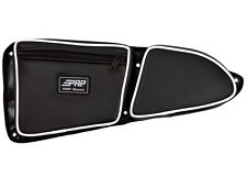 PRP Seats Polaris RZR XP 1000 Door Bag w/ Knee Pad, PAIR -Set of 2, WHITE Piping