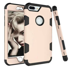 Shockproof Full Body Hybrid Silicone Protective Cover Case for iPhone X 7 8 Plus