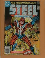 Steel #1 1978 1st appearance of the original Steel !  FN+ to FN/VF