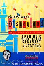 Disneyland Opening Night, Anaheim 1955 - Giclee Disney Print