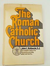 1969 Hardcover Book The Roman Catholic Church by John L. McKenzie S.J.
