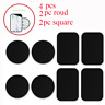 4pcs Metal Plate Replacement Strong Adhesive for Magnetic Car Mount Phone Holder