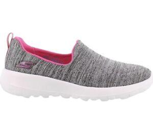 Skechers Girl's, Go Walk Joy Enchant Shoes Grey Pink