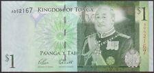 TWN - TONGA 37a - 1 Pa'anga 2009 UNC Prefix A