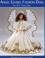 Angel Gloria Fashion Doll Outfit Crochet Pattern NEW - 30 Days to Shop & Pay!