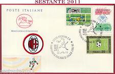 ITALIA FDC CAVALLINO CAMPIONATO ITALIANO CALCIO SERIE A 1992 CREMONA S243