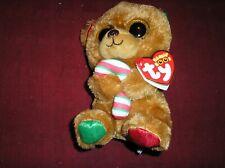 TY Beanie Boos Bella Christmas Bear
