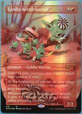Goblin Rabblemaster (Secret Lair) FOIL Promo NM Red Rare CARD (224463) ABUGames