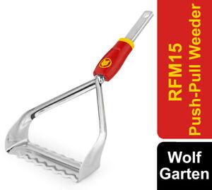 Wolf Garten RFM15 Multi-Change Push-Pull Weeder 15cm Working Width