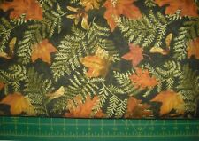 QUILT, SEW, FABRIC by Timeless Treasures Nature C7205 Leaves on Pine