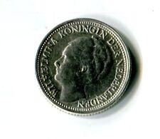 10 Cents Niederlande 1941 Wilhelmina Silber M_1081