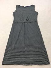 Boden Womens UK 14 US 10 Navy Blue White Stripe Easy T Shirt Dress WH608
