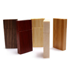 Block Bamboo Wooden USB Chip Walnut Shell Engraved Custom 60x30x10mm Universal