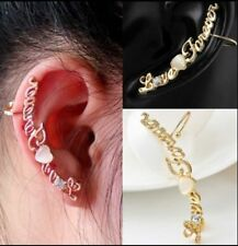 Unbranded Yellow Gold Plated Clip - On Fashion Earrings