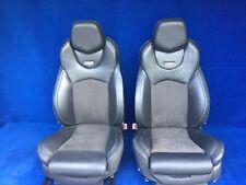 2015 2014 2013 Cadillac CTS-V Recaro Seats Black Leather