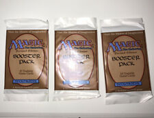 MTG The Gathering Revised Edition English Sealed 15 Card Booster Pack  3 Packs