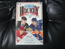 1991-92 Upper Deck Factory Sealed Hockey Box (S) 12 cards per pack