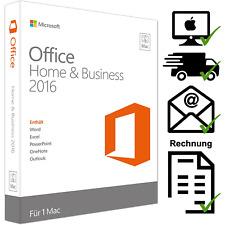 Microsoft Office Home and Business 2016 para MacOS-email-de-versión completa