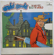 DAVID BOWIE The Man Who Sold The World 1970 US ORG Cartoon Cover LP Shrink!