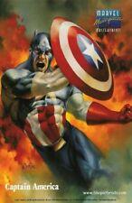 1996 Marvel Masterpieces MASTERPRINT Set  Captain America & Silver Surfer Mint.