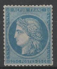 """FRANCE STAMP TIMBRE N° 60 A  """" CERES 25c  BLEU TYPE I """" NEUF x TTB   M764"""