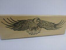 Rubber Monger Eagle Flying Rubber Stamp