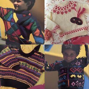 Map Of Australia Big Bold Childrens Knitting Pattern Book Hearts Number Alphabet