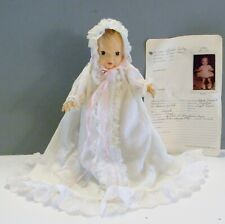 "Vintage Terri Lee Baby Doll LINDA BABY 10"" 1951 w/ clothes & Collector's Record"