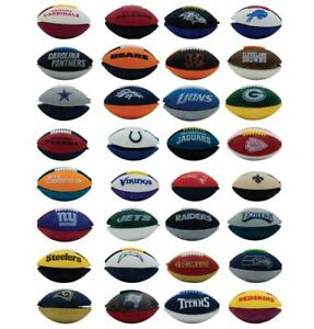 NFL Mini Footballs all 32 Teams Fun Toy or Eraser FREE S&H Only 53 cents each!?!
