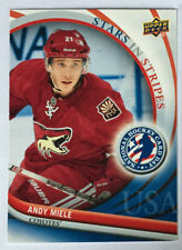 ANDY MIELE RC 2012 NATIONAL HOCKEY DAY TRADING CARD #11 - PHOENIX COYOTES